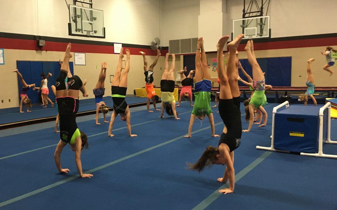 Gymnastics/Tumbling Classes start October 31