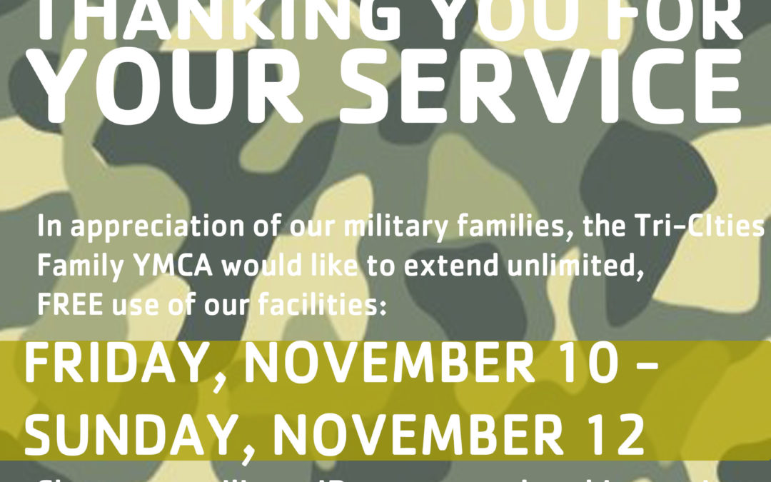 All military FREE this weekend!