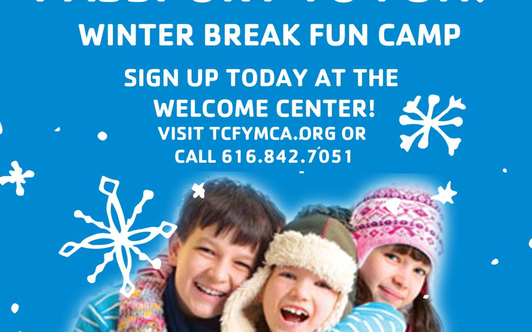 Winter Break Fun Camp – Register TODAY, Spots are Limited!