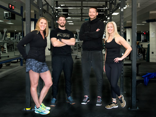 Coaches for CrossFit Flight Grand Haven located at Tri-Cities Family YMCA.